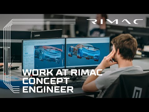 Work at Rimac: Become a Concept Engineer