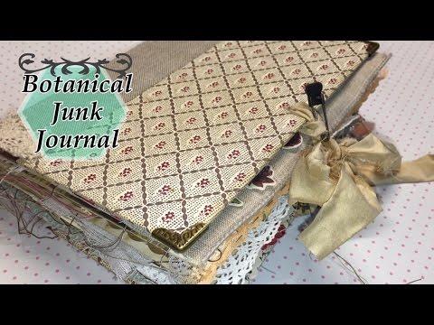 Botanical Junk Journal for CJ | I'm A Cool Mom