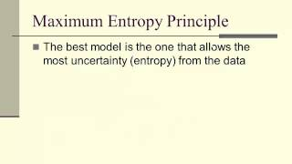 Maximum Entropy Principle and Information