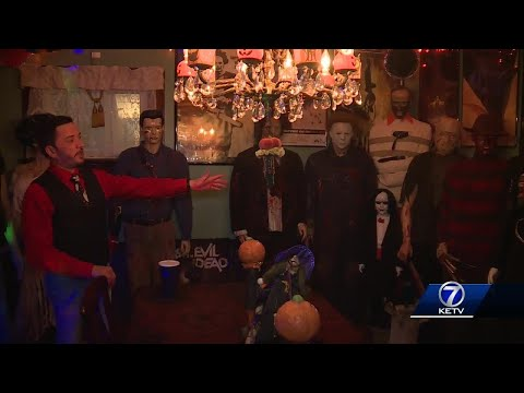 Omaha man transforms home into incredible haunted house