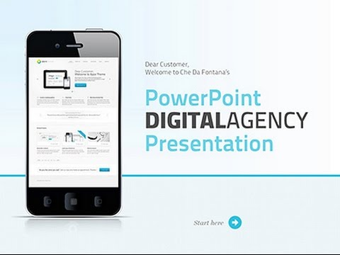 Powerpoint business presentation template youtube accmission Choice Image