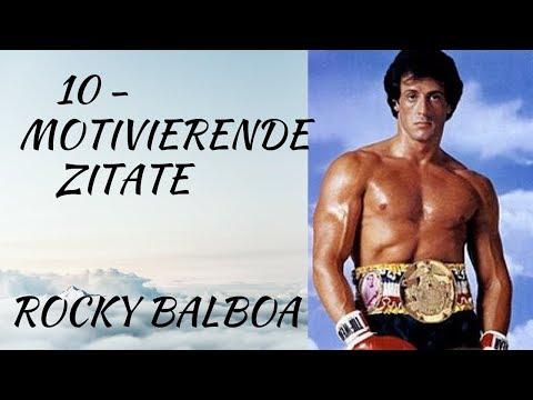 Rocky Balboa Motivierende Zitate