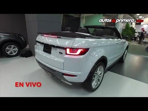 EN VIVO: Nueva Range Rover Evoque Convertible en Colombia