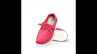 Hey Dude Shoes - 360° Wendy Washed (Coral)