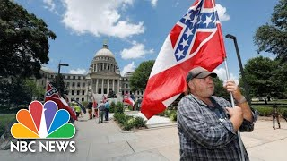 Live: Mississippi Governor Signs Bill Removing Confederate Symbol From State Flag | Nbc News