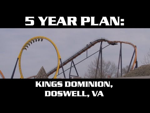 Kings Dominion 5 Year Plan (2018 - 2022) Future Attractions