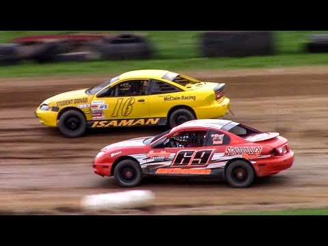 Kids Class Mini Stock Heat | McKean County Family Raceway | 5-5-18