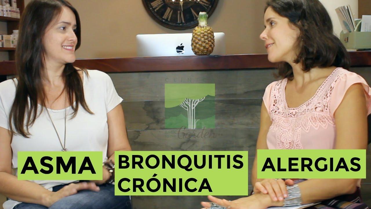 Reversión de Asma, Bronquitis Crónica, Alergias