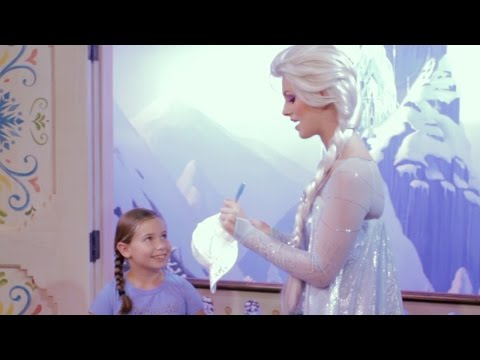 Meet Anna & Elsa at the Royal Sommerhus, Epcot, Walt Disney World Resort