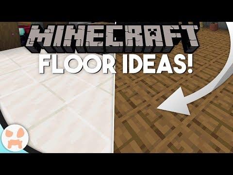 SIMPLE DECORATIVE Minecraft 1.14+ FLOOR IDEAS!