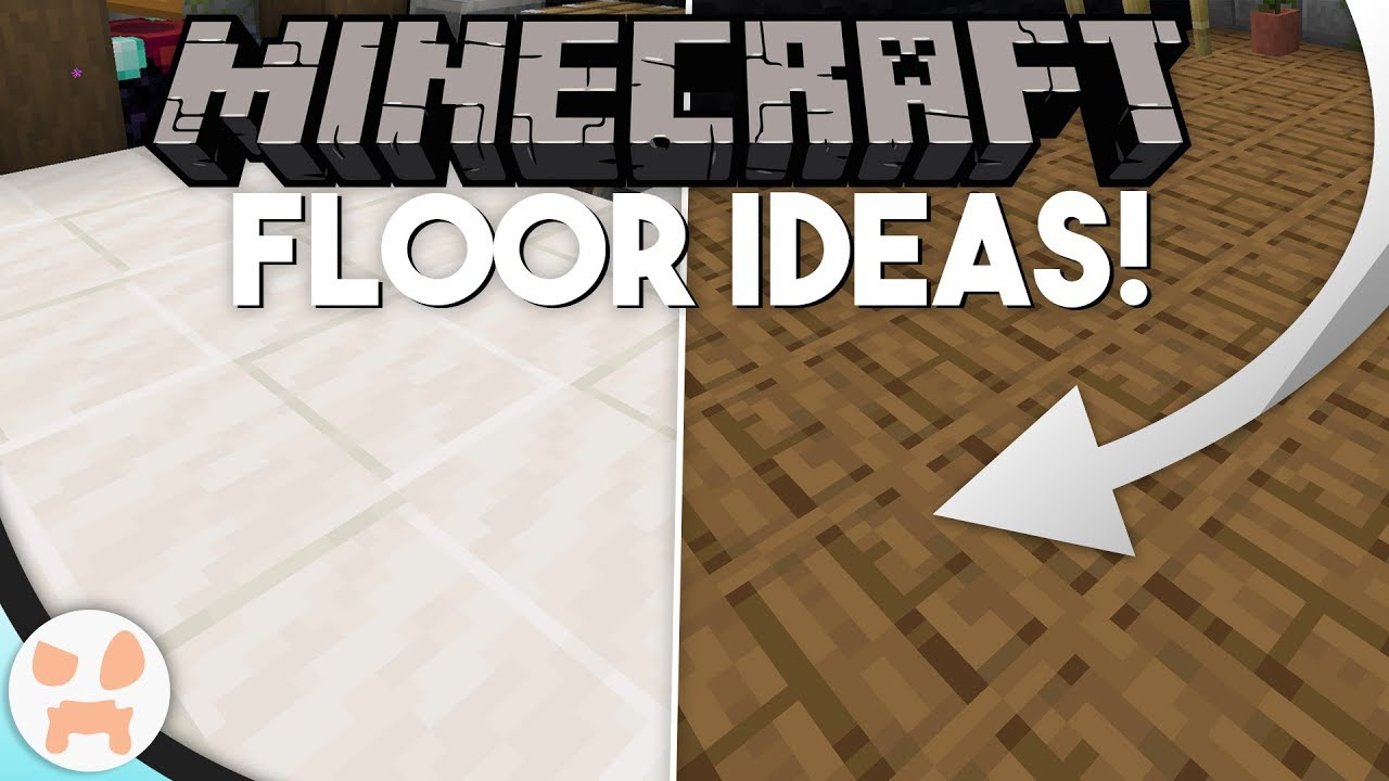 SIMPLE DECORATIVE Minecraft 1.14+ FLOOR