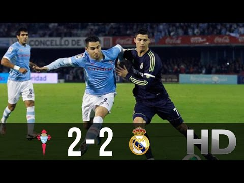 Celta Vigo vs Real Madrid 2-2 - All Goals and Highlights (Co