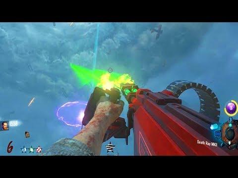 ORIGINS: RAY GUN MK 2 DEATH MACHINE & MW2 GUNS WEAPONS MOD!