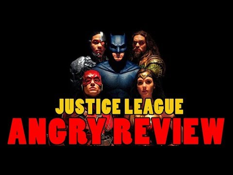 Justice League Angry Movie