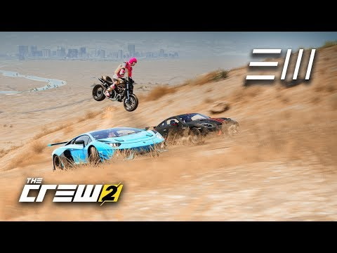 The Crew 2 - Anything Goes Race from Headquarter to Headquarter!  