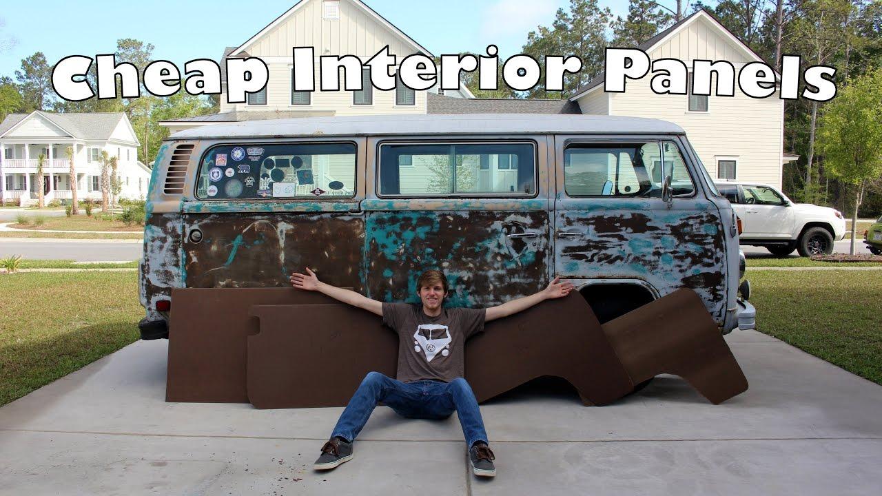 Easy Cheap Diy Interior Panels Making Interior Panels
