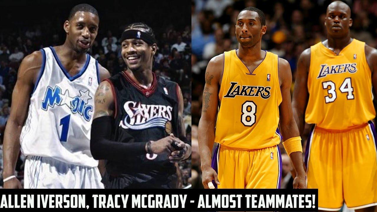 Tracy McGrady   Allen Iverson Were Almost Teammates!  319441f25