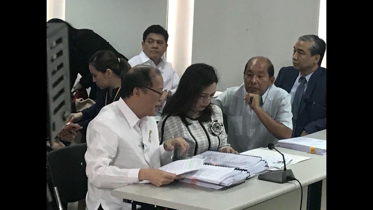 Aquino at DOJ to answer raps over Dengvaxia