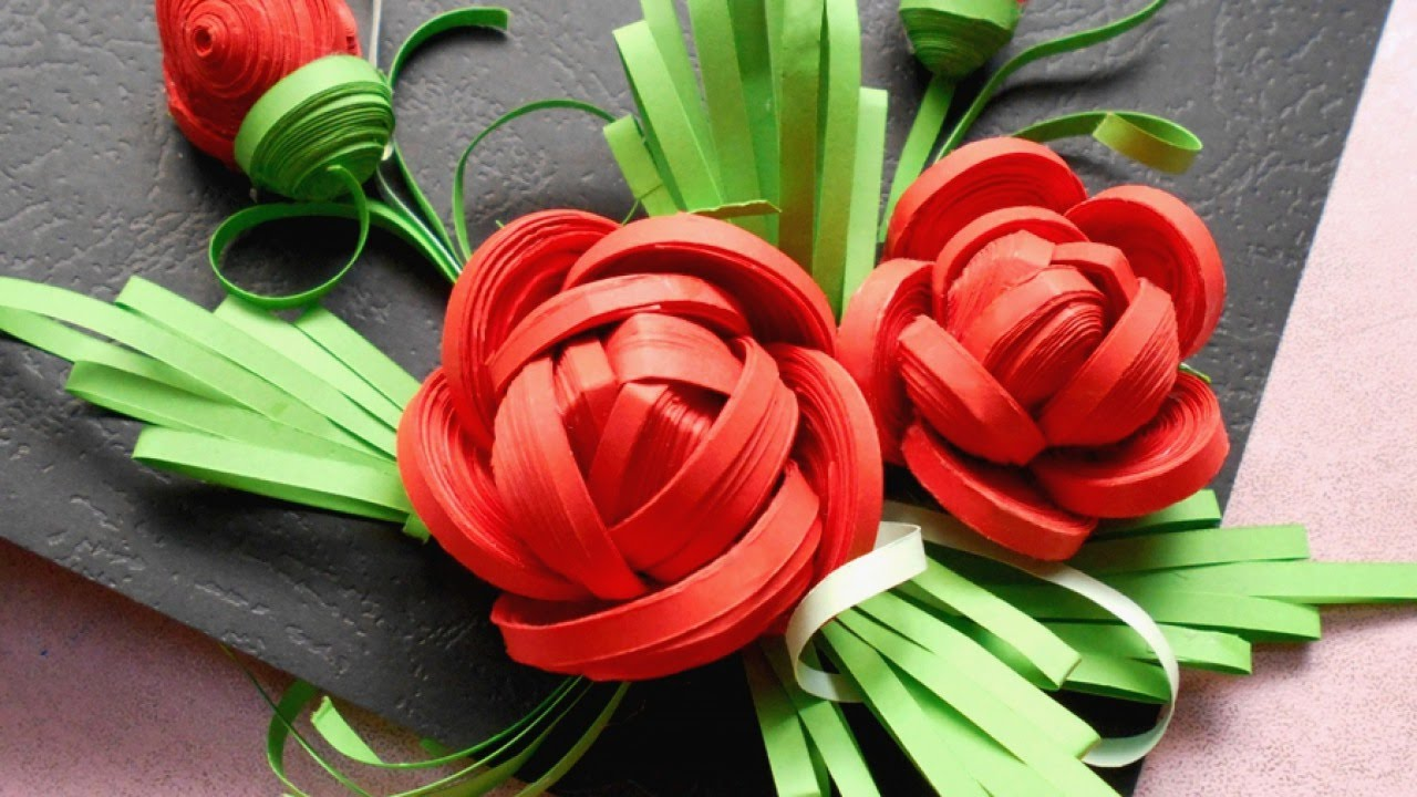 How To Make Beautiful Quilled Rose Diy Tutorial Guidecentral