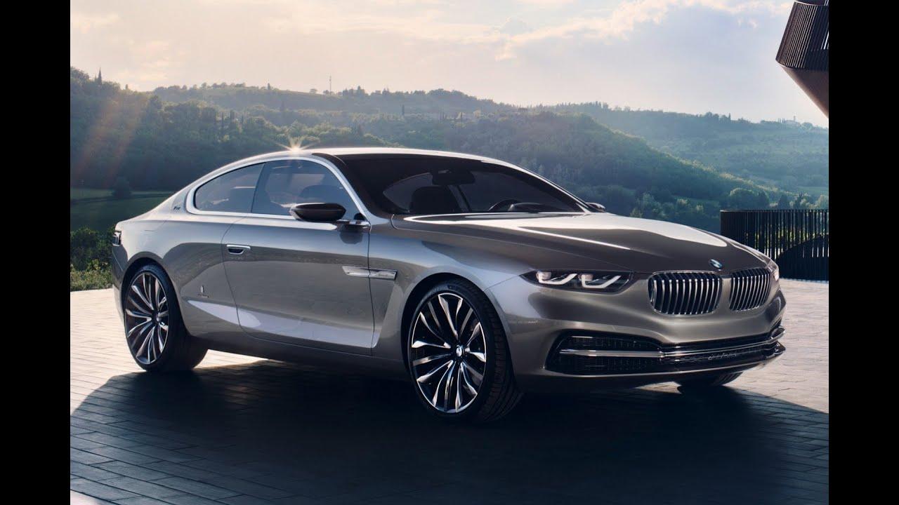 bmw serie 8 concept car 2017 - youtube