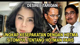 Hadir Sebagai Saksi Sidang Perceraian Bams, Desiree Tarigan Ungkap Kesepakatan Dengan Hotma Sitompul