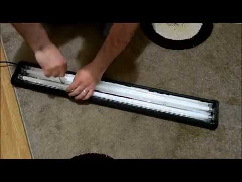 Helping one of my subscribers-Odyssea Dual Pro T5-Light Fixture on