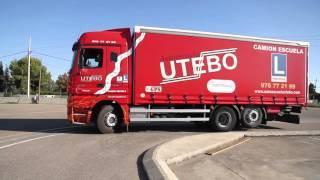 Prácticas de circuito Permiso C - Camión rígido - Autoescuela Utebo Grupo Fortrans