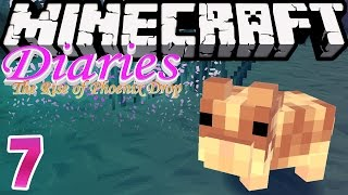 Hamster Boat Party | Minecraft Diaries [S1: Ep.7] Roleplay Survival Adventure!