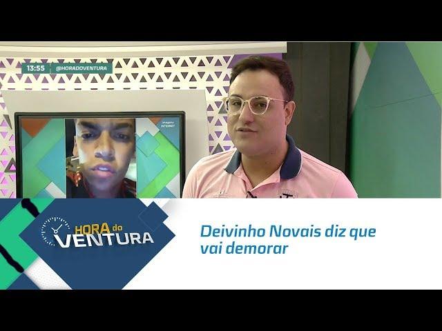 Deivinho Novais diz que vai demorar para Sergipe ter um cantor como ele - Bloco 01