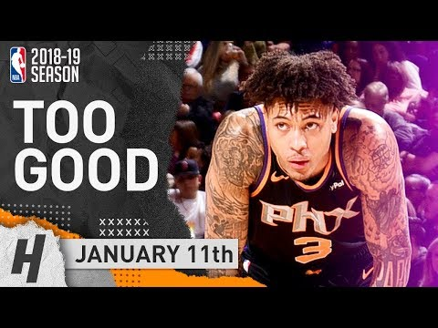 Kelly Oubre Jr. Full Highlights Suns vs Nuggets 2019.01.12 - 26 Points, 11 Reb!