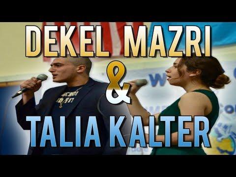 Hallelujah: Talia Kalter and Dekel Mazri