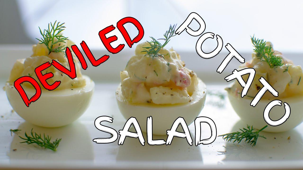 how to make potato salad molecules