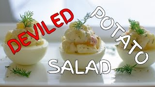 How To Make Deviled Potato Salad