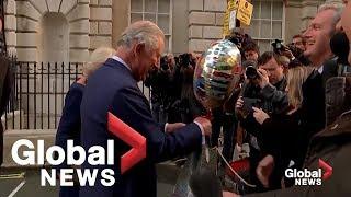 Prince Charles jokes turning 70 is 'rather like indigestion'