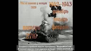 сколько потиряли танков рейха в великой отечественной войне