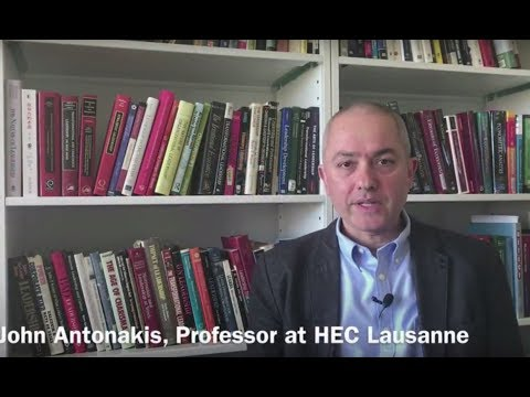 Professor John Antonakis discusses the five diseases of academic publishing