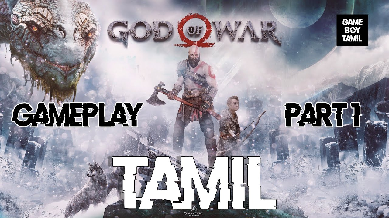 2018 God Of War Gameplay Part 1 Intro God Of War 4 Youtube