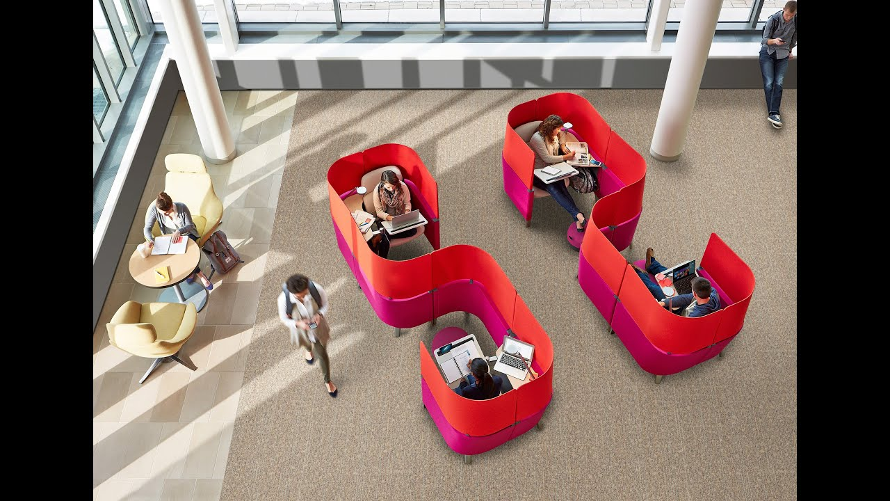 Egg Chair Pod Crayola Wooden Table And Set The Design Story Behind Brody Worklounge - Steelcase Youtube
