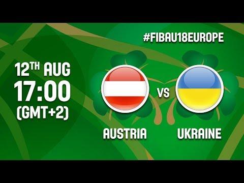 Austria v Ukraine - Full Game - Class 13-16 - FIBA U18 Women's European Championship 2017 - DIV B