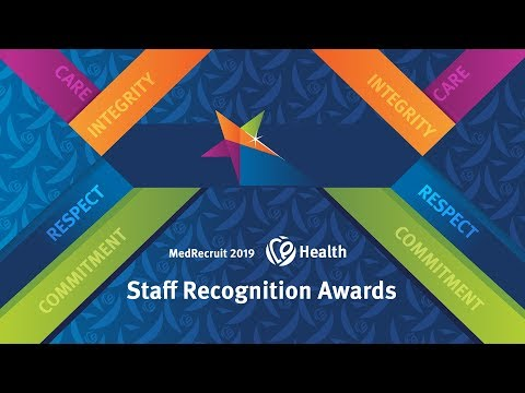 2019 MedRecruit CQ Health Staff Recognition Awards Gala Event