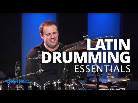 Latin Drumming Essentials - Drum Lesson (DRUMEO)