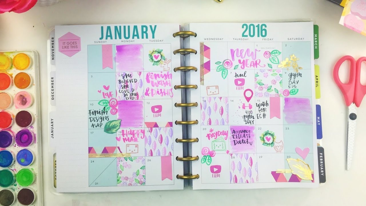 Plan with me the happy planner by me my big ideas for Happy planner ideas