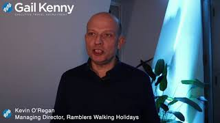 Kevin O'Regan, Ramblers Holidays