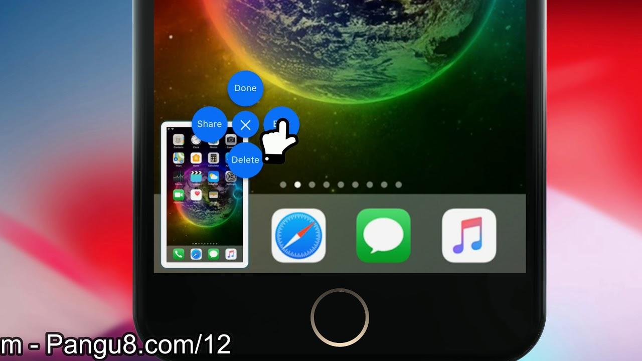 Laucher Iphone X Conceptdark Apk