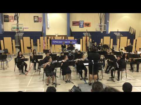 Guam Tumon Bay Music Festival 2017 Winds and String Band Competition Luis P Untalan Middle School