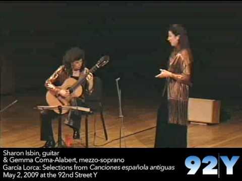 Sharon Isbin & Gemma Coma-Alabert - García Lorca Songs