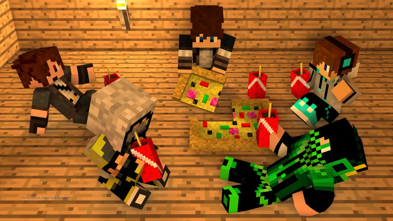 Comment créer un fond d'écran Minecraft avec un skin - YouTube - Fond D'ecran Minecraft