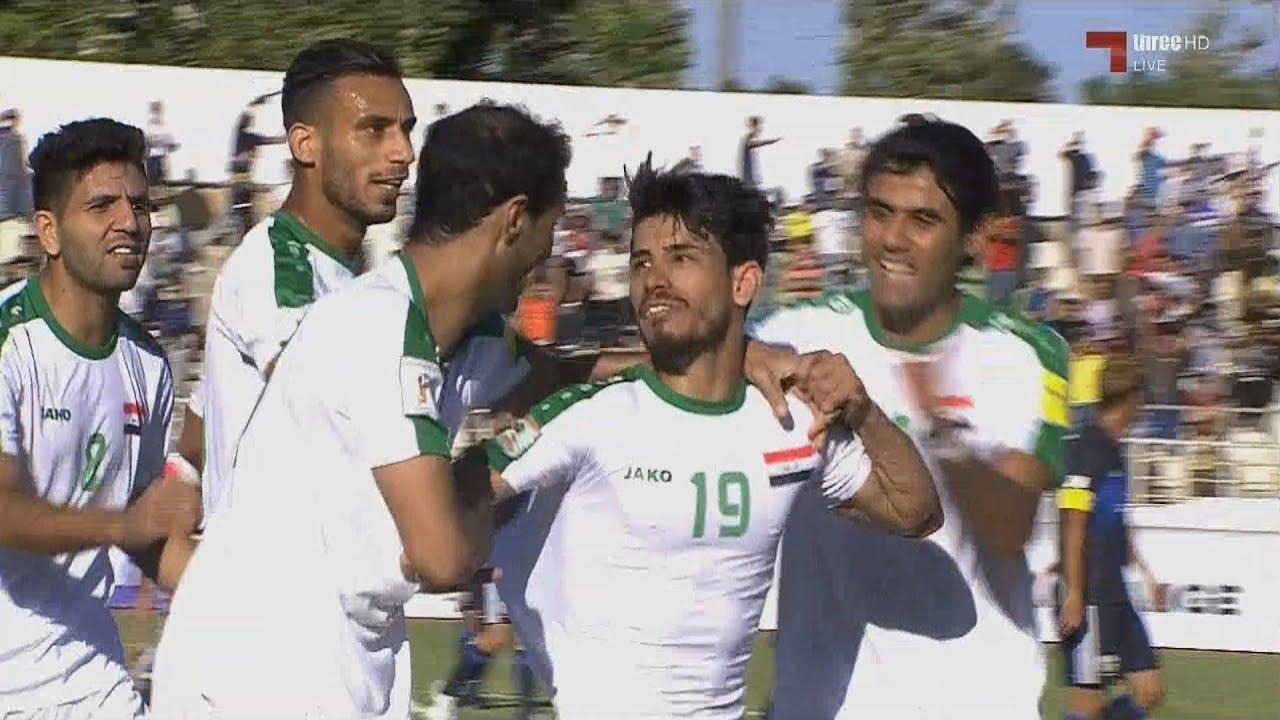 أهداف مباراة العراق 1-1 اليابان   تصفيات كأس العالم 2018