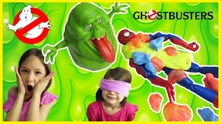 GHOSTBUSTERS MOVIE Guess What Toy Game SLIMER GHOSTBUSTERS Ghostbusters Toys 2016 Slime Toys