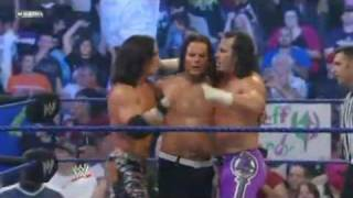The Hardy Boyz & John Morrison vs The Hart Dinasty & Cm Punk